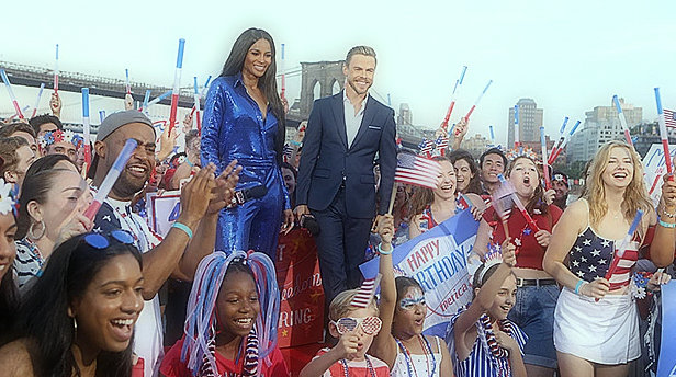 Ciara is stunned with a bright blue jumpsuit and more at the Macy's 4th of July fireworks show