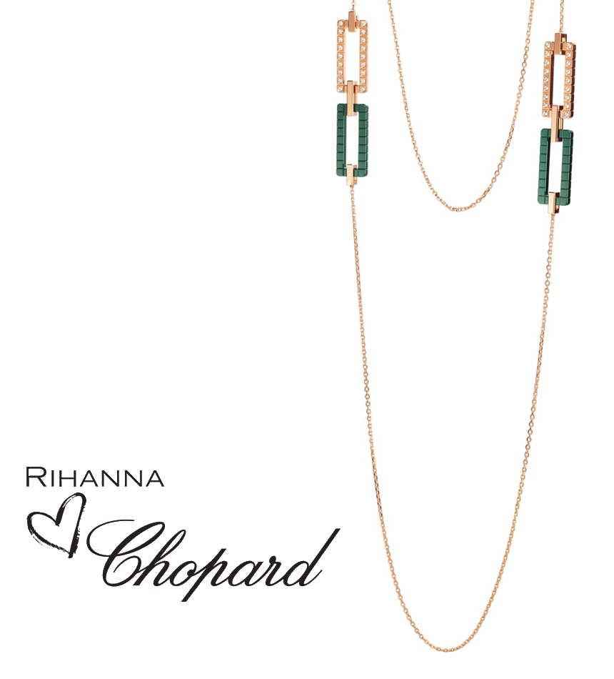 Rihanna Loves Chopard Sautoir