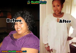 Maria Gordon, 31 years old    LOSS OF TOTAL WEIGHT: 52 kgs