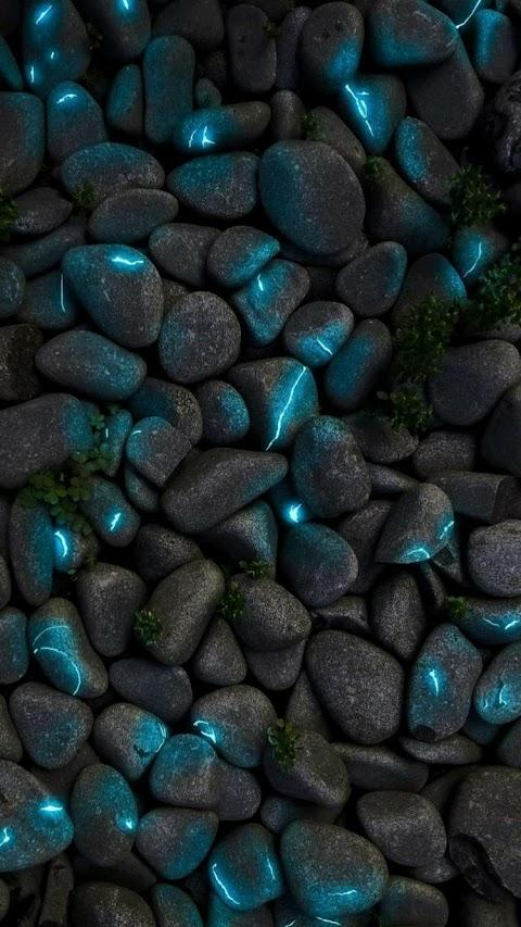 Những viên đá phát sáng