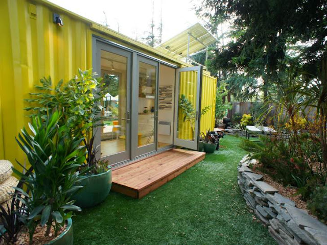 Shipping Container Cabins, Homes and Buildings by HyBrid Architecture 18