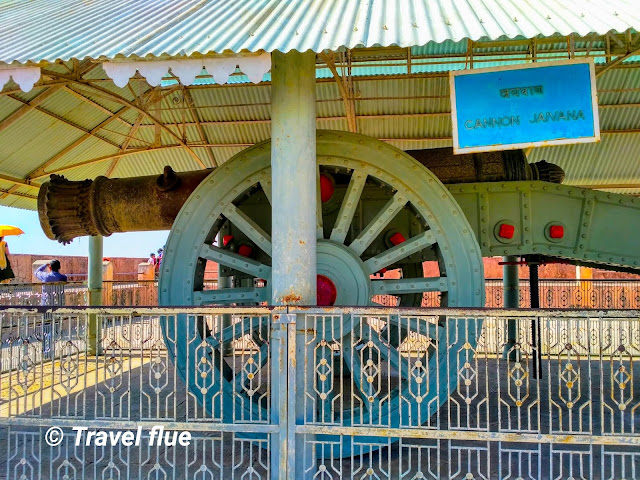 World largest cannon on wheels(Jaivana) by travelflue