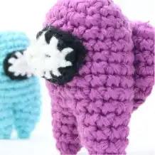 Tripulante Among Us Crochet