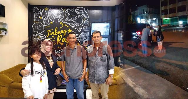 Presiden Direktur PT.Imza Riski Jaya Group Melintas Pidie, Pagi di Jakarta Malam di Bireun Aceh