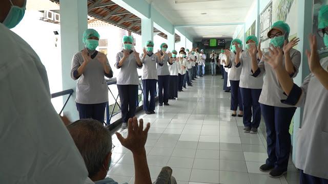 Pasien Covid-19 di RS PHC Surabaya Sembuh