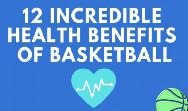 12 Incredible Health Benefits of Basketball #infographic