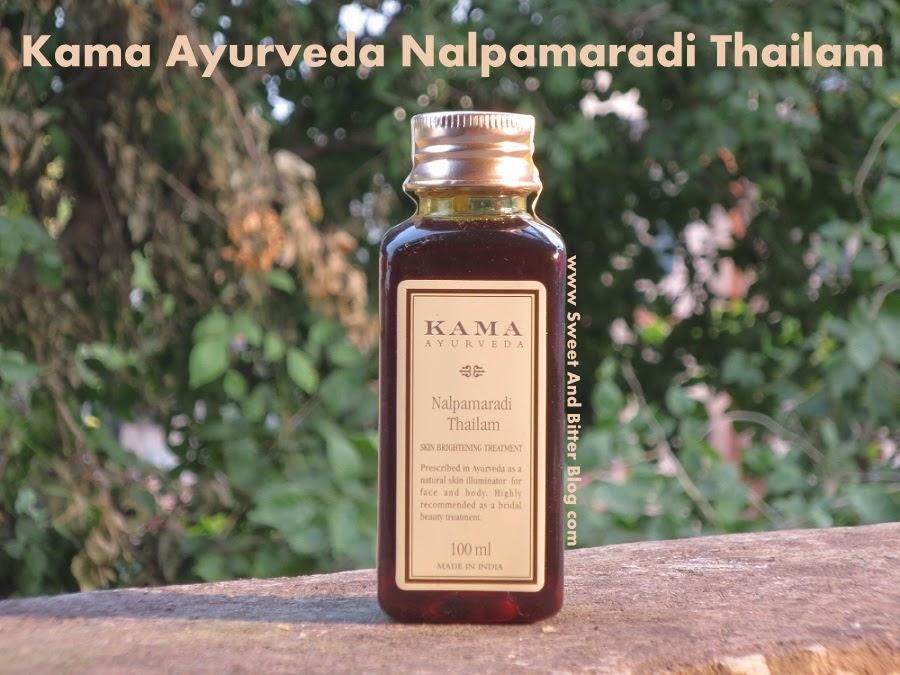 Kama Ayurveda Nalpamaradi Thailam Review