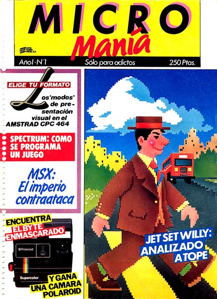 Revista Micromanía Número 1