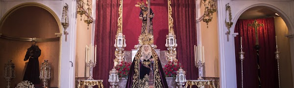 Rosario de la Aurora de la Hermandad del Calvario de Huelva