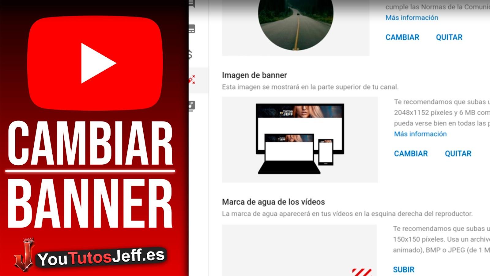 Como Poner Banner en Youtube desde Teléfono