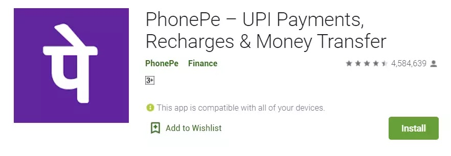 top Payment app in India in hindi me help