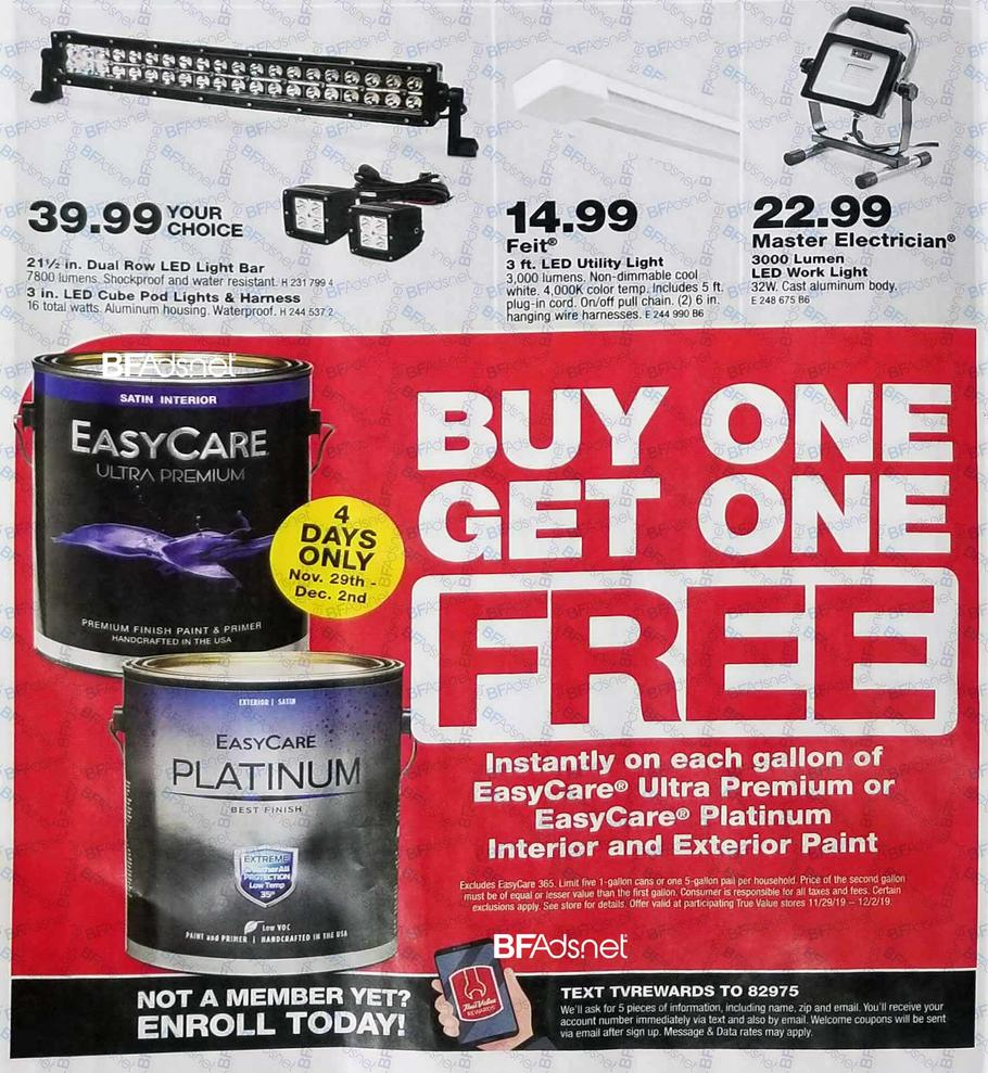 True Value Ad Scan 4 for 2019