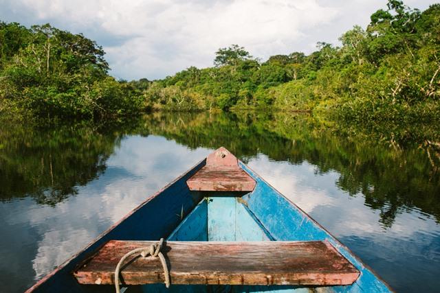 Canoagem em foto de Nathália Segato