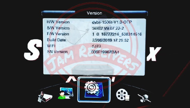1506T SGB2 LATEST POWERVU OK SOFTWARE 2019 BY JAM RECEIVERS
