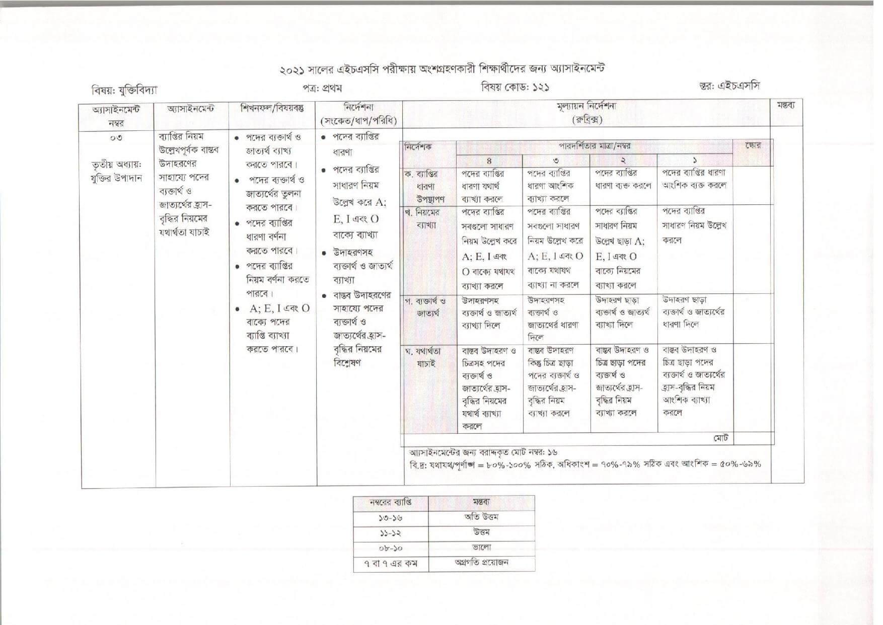 HSC 4th Week Logic Assignment