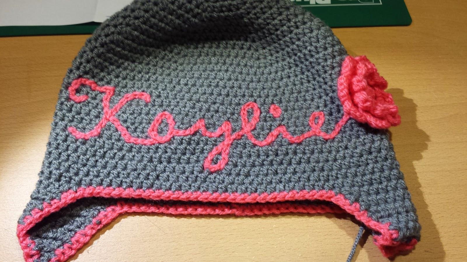 Crochets4u Letters Haken Bijvoorbeeld Een Naam Op Een Muts