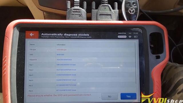 xhorse  vvdi key tool plus benz w204 2007 add key 12