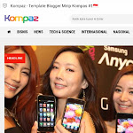 Download Template Blog Mirip Kompas.com untuk Berita Premium Gratis