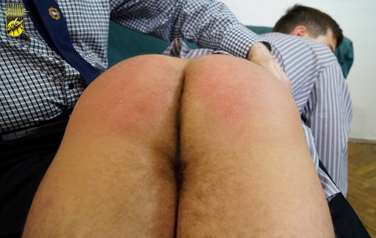 image Teen boy spanked bare and sex gay