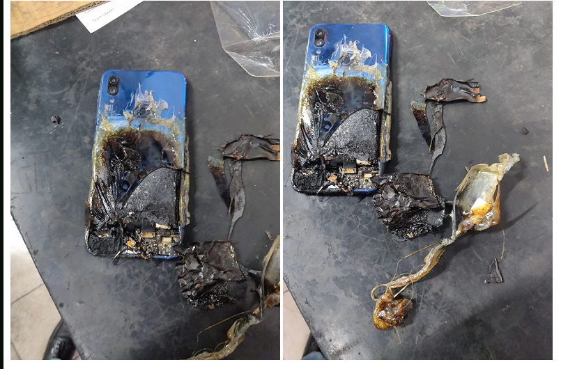 The super popular Redmi Note 7S ignited and burned, Xiaomi's answer is ridiculous