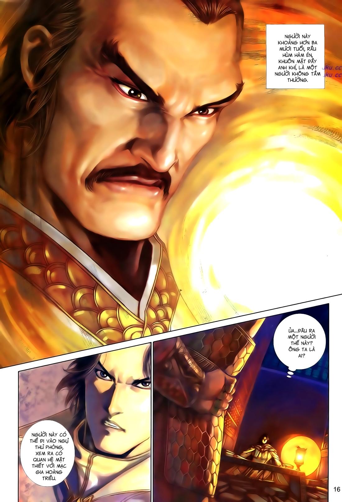Anh Hùng Vô Lệ Chap 110
