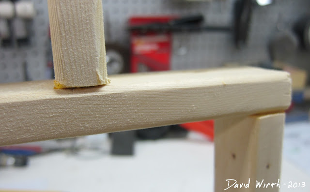 spackle wood joint