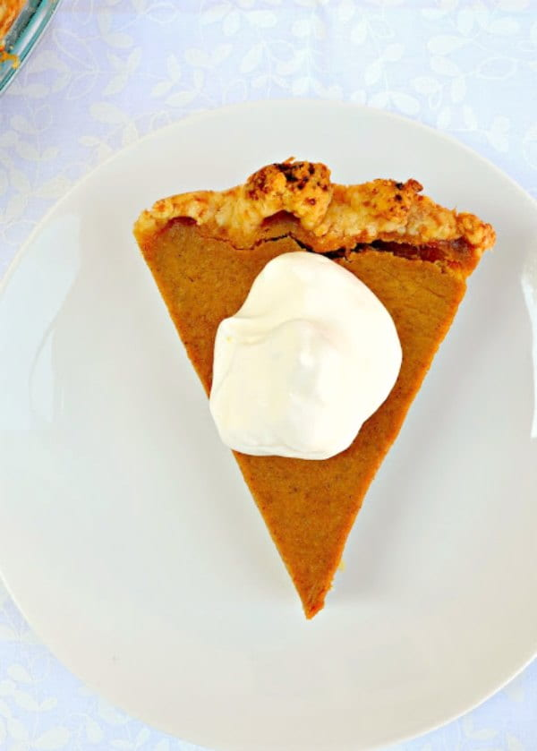 Easy to make Pumpkin Pie recipe is a classic for Thanksgiving. Homemade Pumpkin Pie Recipe from Serena Bakes Simply from Scratch.
