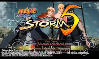 download game PPSSPP Naruto Shippuden Ultimate Ninja Storm 5 ukuran kecil