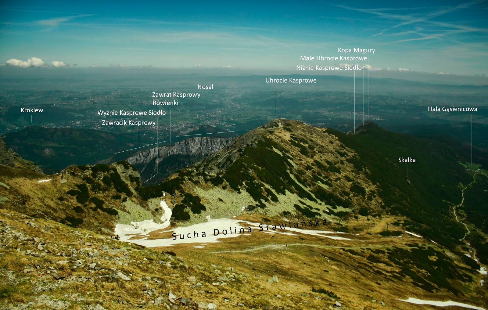 Panorama z Beskidu