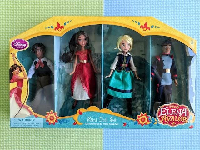 Обзор кукол из мини сета Елена из Авалора от Дисней