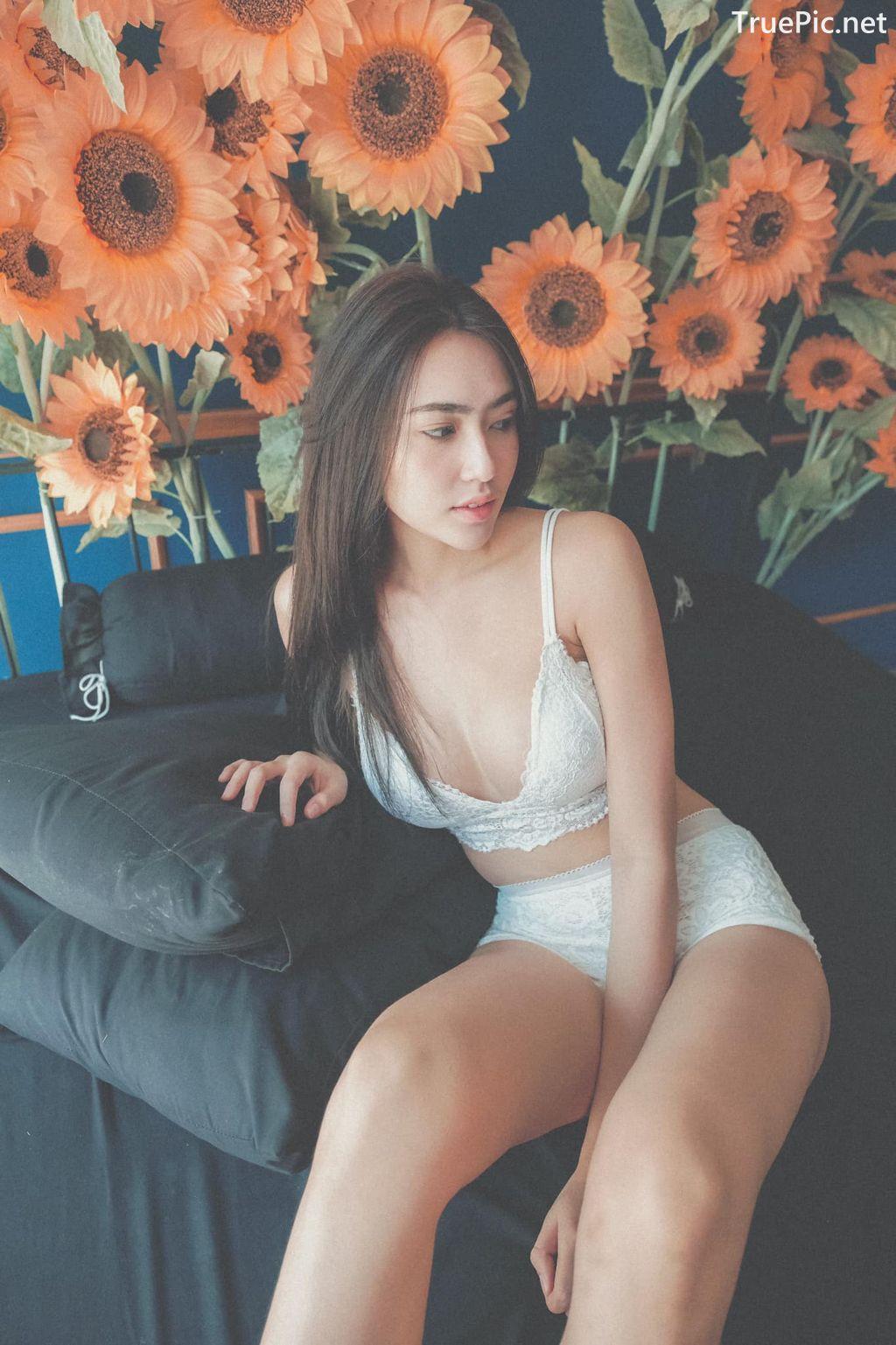 Image-Thailand-Model-Baifern-Rinrucha-Kamnark-White-Lingerie-TruePic.net- Picture-9