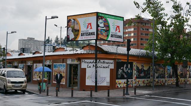 Market Artisanal La Mariscal Quito