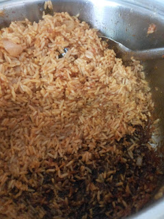 Cooking steps for Nigerian party jollof rice 03