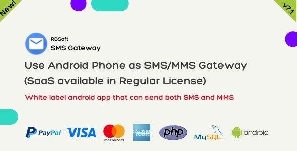 SMS Gateway v7.0 - Use seu telefone Android como SMS / MMS Gateway Download Grátis