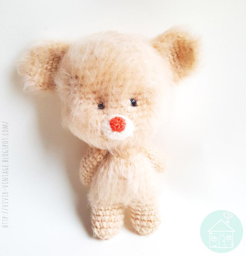 oso amigurumi