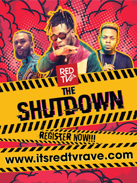 "Burna Boy, Olamide And Jidenna To Headline The Biggest Party Of 2019, REDTV's ""The Redtv Rave"""