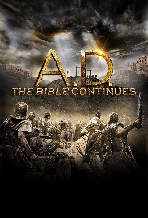 A.D. La Biblia Continua Completa DVDRip Dual Latino/Ingles