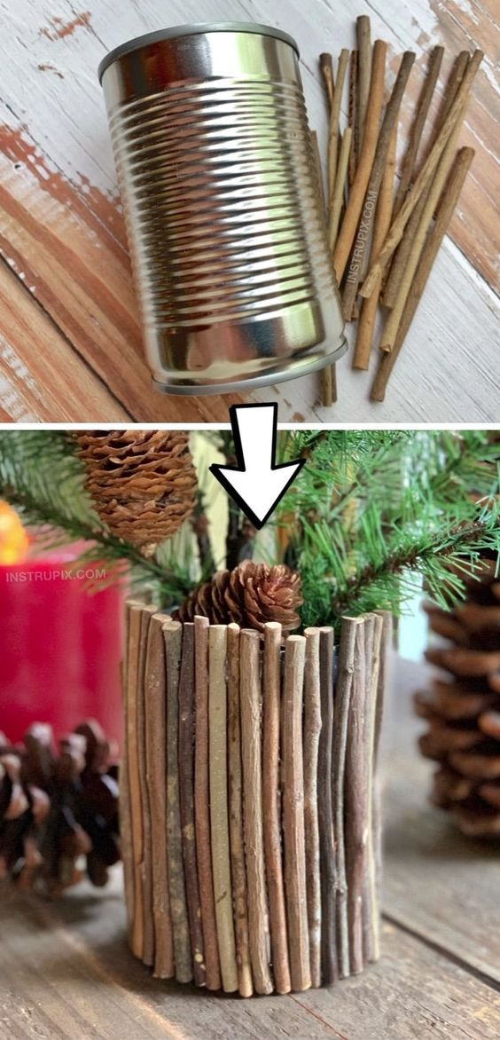 Easy crafts for plant pots