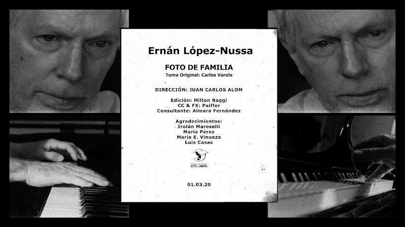 Ernán López-Nussa - ¨Foto de Familia¨ (Carlos Varela) - Videoclip - Director: Juan Carlos Alom. Portal Del Vídeo Clip Cubano. Música instrumental cubana. Piano. Cuba.
