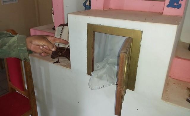 Criminosos arrombam capela e violam sacrário sagrado na cidade de José de Freitas