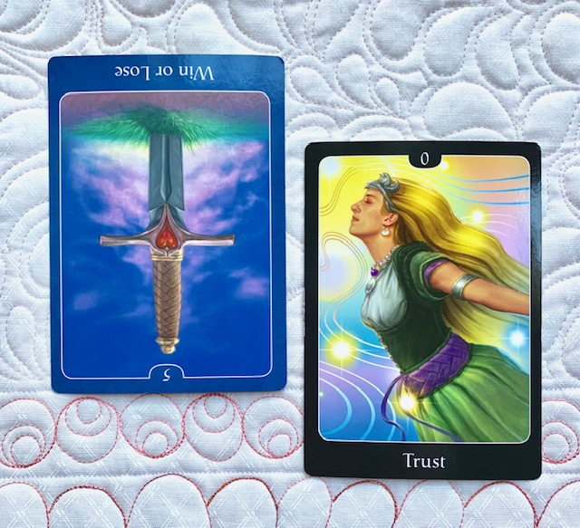 Mother-Tarot-Psychic-Tarot-for-the-Heart-weight-loss-5-Swords-The-Fool