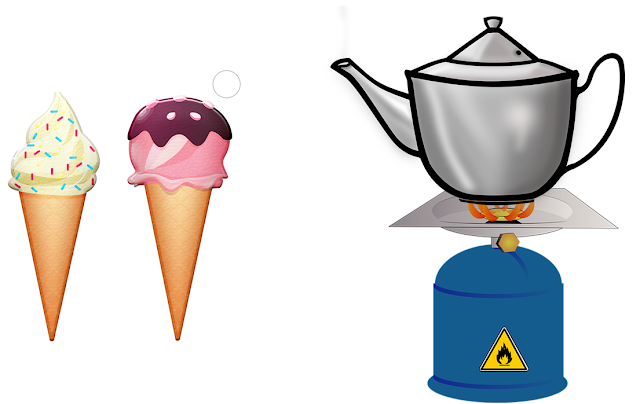 Examples of Hot and Cold