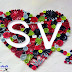 Quilling Heart Love Letters - S\V- Design | Paper Quilling Art