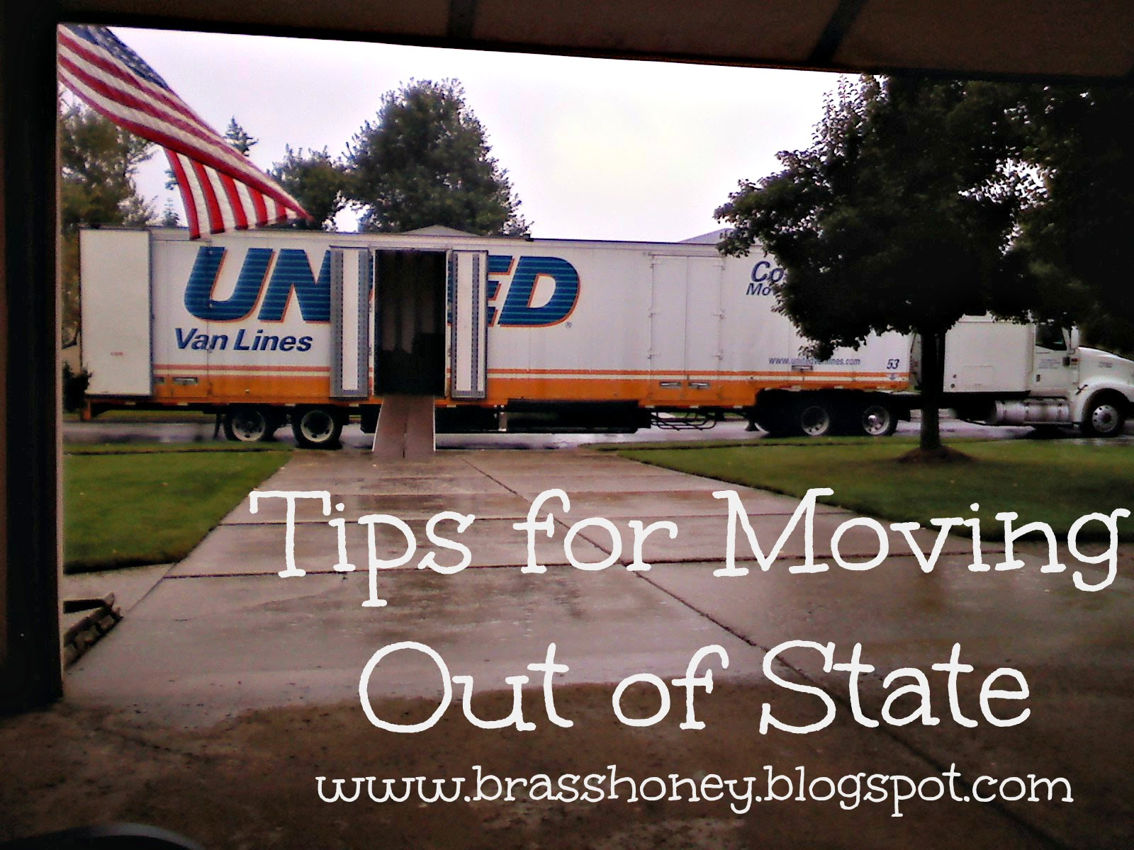 Brass Honey Tips For Moving Out Of State