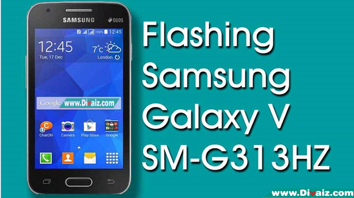 Cara Flash Samsung Galaxy V SM-G313HZ
