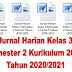 Jurnal Harian Kelas 3 Semester 2 Kurikulum 2013 Tahun 2020/2021 - Mutu SD