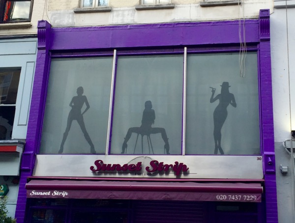 Sunset Strip club Soho London