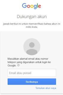 Cara Ganti Password Gmail Yang Lupa Lewat HP