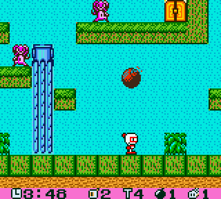 【GBC】口袋炸彈人,懷舊的轟炸超人遊戲!