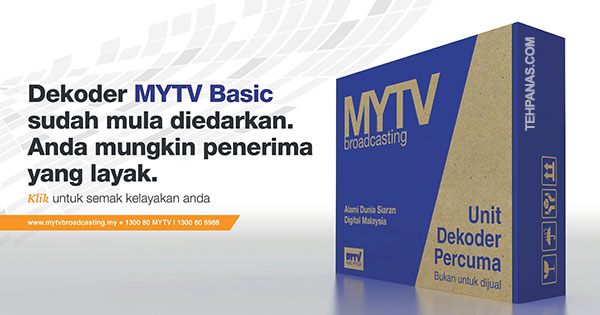 Semak Kelayakan Anda Untuk Mendapatkan Dekoder MYTV Percuma